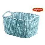 kosz knit s niebieski curver