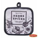 łapka kuchenna spices szara