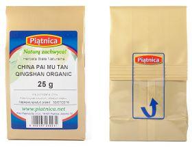Opakowanie Herbata China White Pai Mu Tan