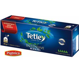 tetley intensive black tea 25 torebek