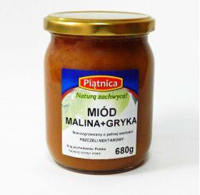 Miód Malina z Gryką