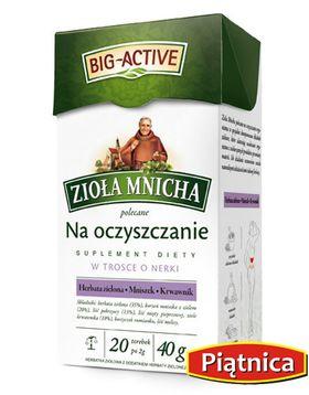 zioła mnicha na oczyszczenie big active